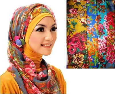 Motif dan Model Jilbab yang Selalu Ngetrend 2013