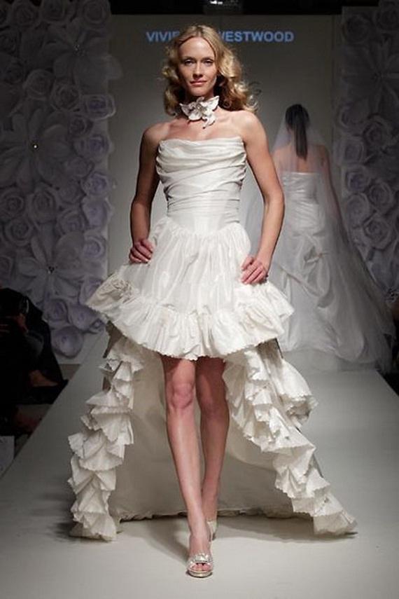 Vivienne Westwood Fall / Winter 2012 Wedding Dresses - World of Bridal