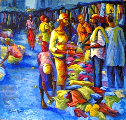 best african art collections by nigerian reknown and best visual artist ayeola ayodeji abiodun of awizzy.com