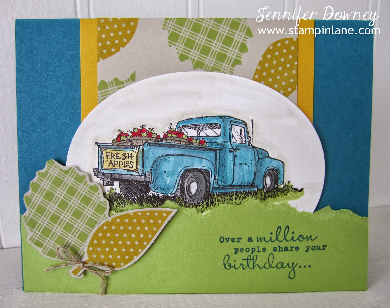 Happy Birthday Dave I Love The Vintage Truck From Oldie But Goodie Set Countryside