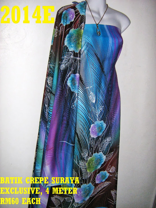 BS 2014E: BATIK CREPE SURAYA EXCLUSIVE, 4 METER