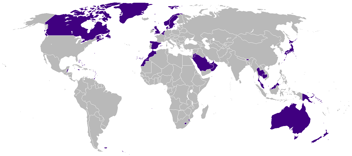 Portal:Monarchy/Monarchies today - Wikipedia