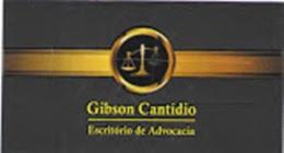 ADVOGADO DR GIBSON CANTÍDIO