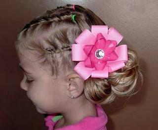 Peinados a la moda elegantes peinados de fiesta para ni 241 as 2013