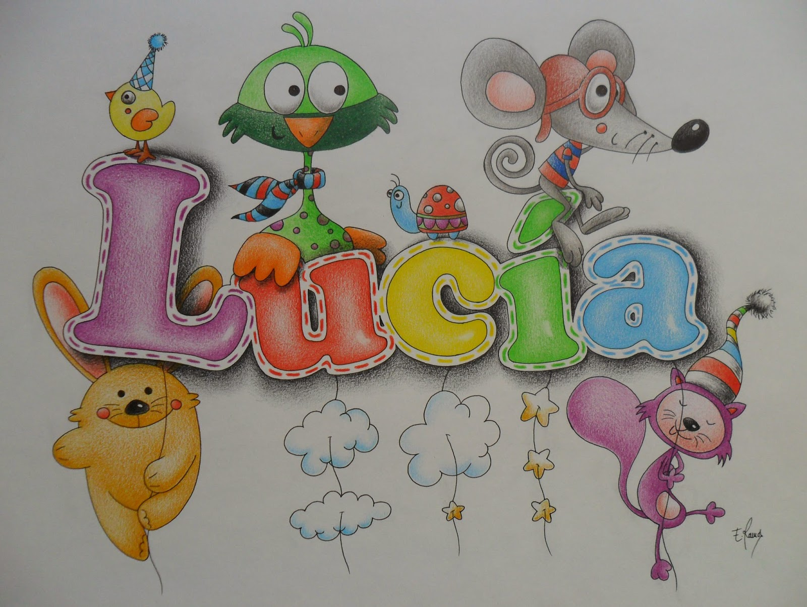 Cuadros infantiles - Dibujos infantiles de bebes ...