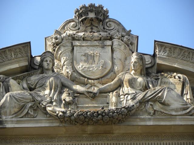 Fountain Saint-Michel Paris