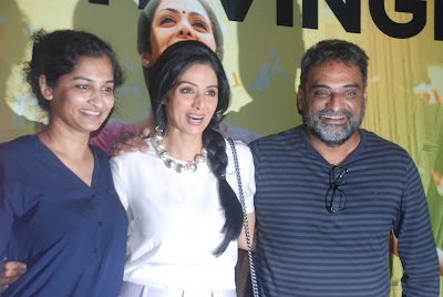 Sridevi with Balki and Gauri Shinde