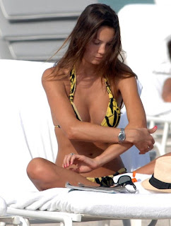Angel Behati Prinsloo Bikini Shoot