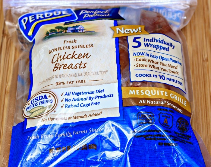 Perdue® Perfect Portions® Mesquite Grille Skinless Boneless Chicken Breasts #perfectportions