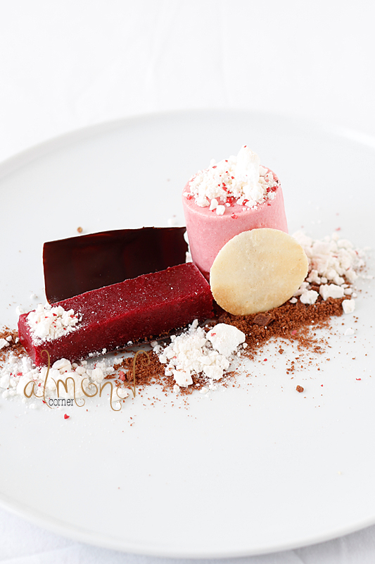 Almond Meringue With Raspberry Sorbet Recipes — Dishmaps