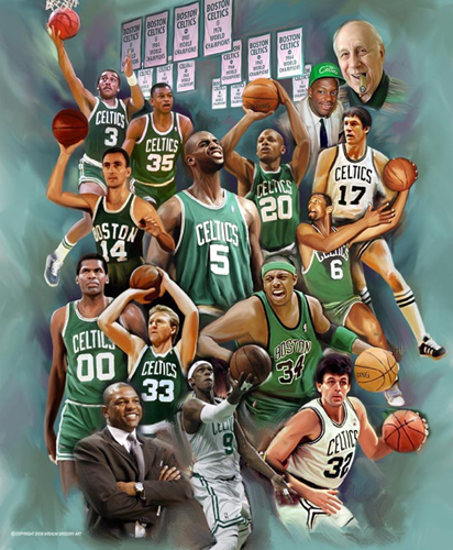 Amazon.com: Trends International Boston Celtics Champions Wall ...