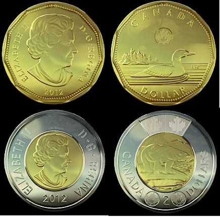 VernonBlog: New loonie and toonie cause headaches for coin ...