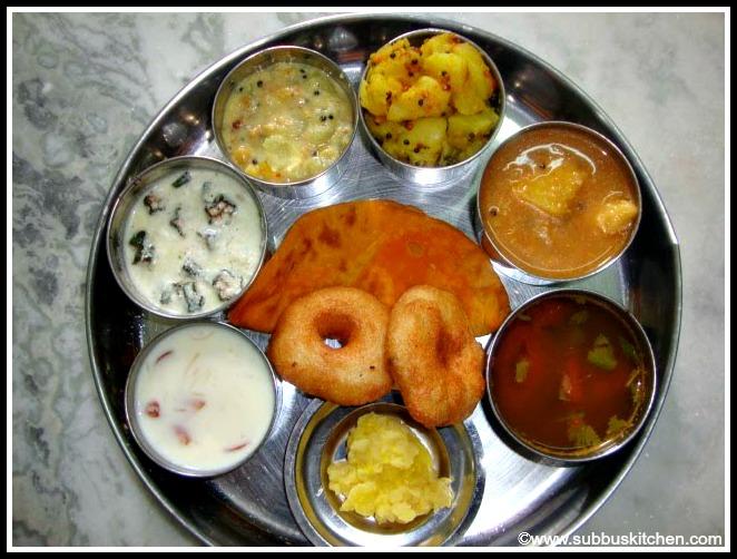 Tamil Brahmin Cusine
