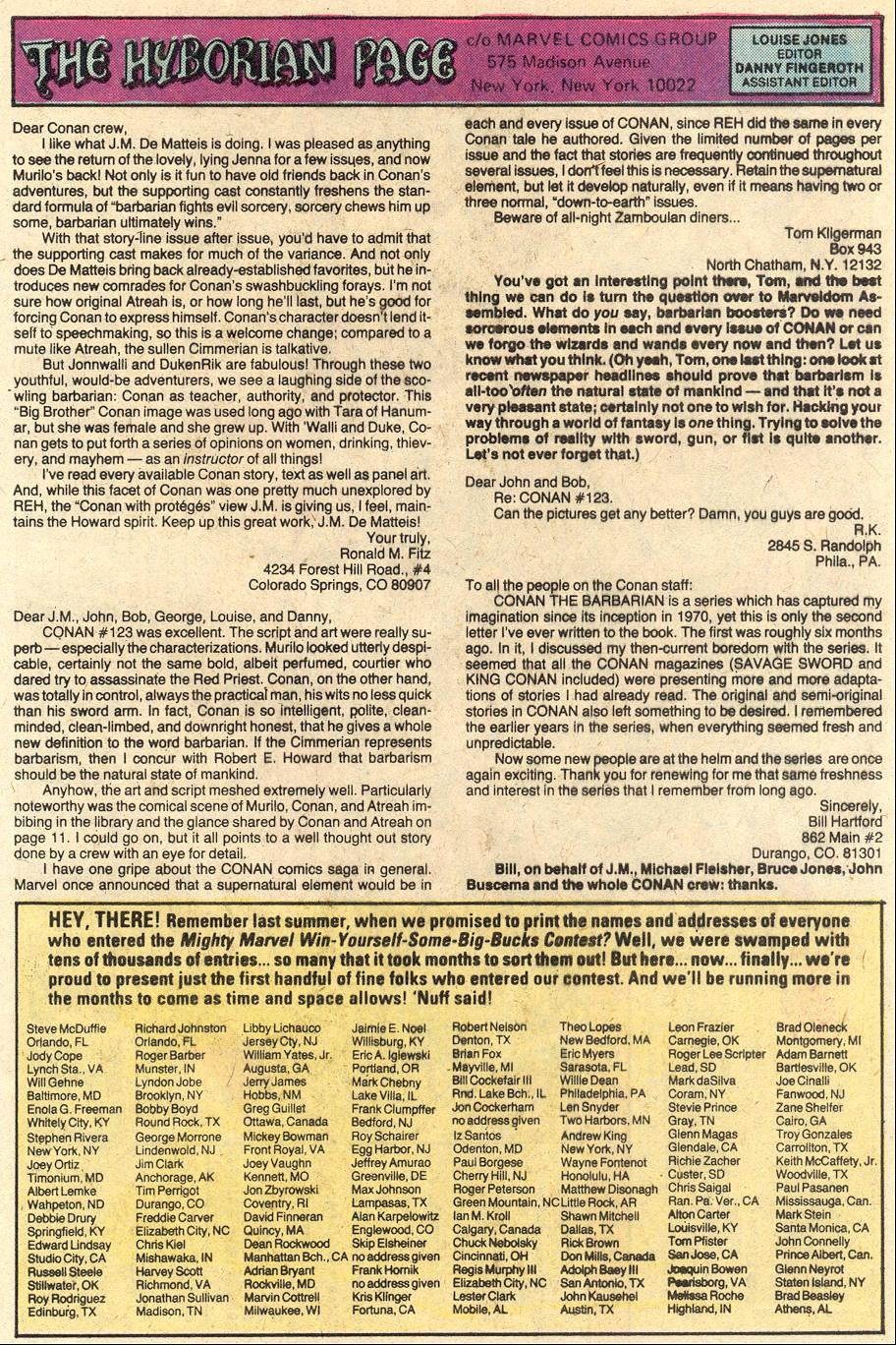 Conan the Barbarian (1970) Issue #127 #139 - English 22