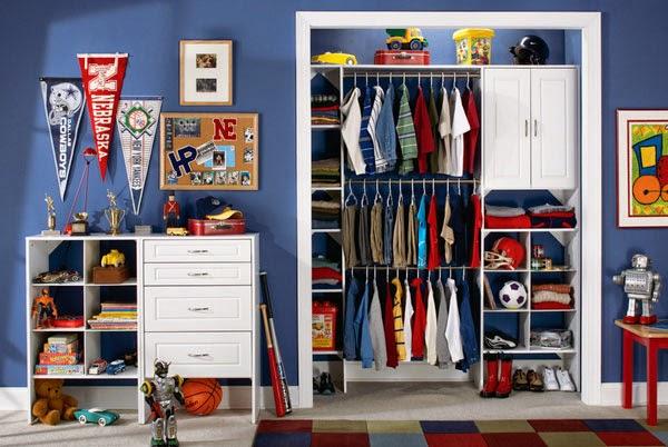 Beau Kids Closet Organizer For Interior Minimalist Rooms