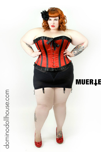 size Tess munster model plus