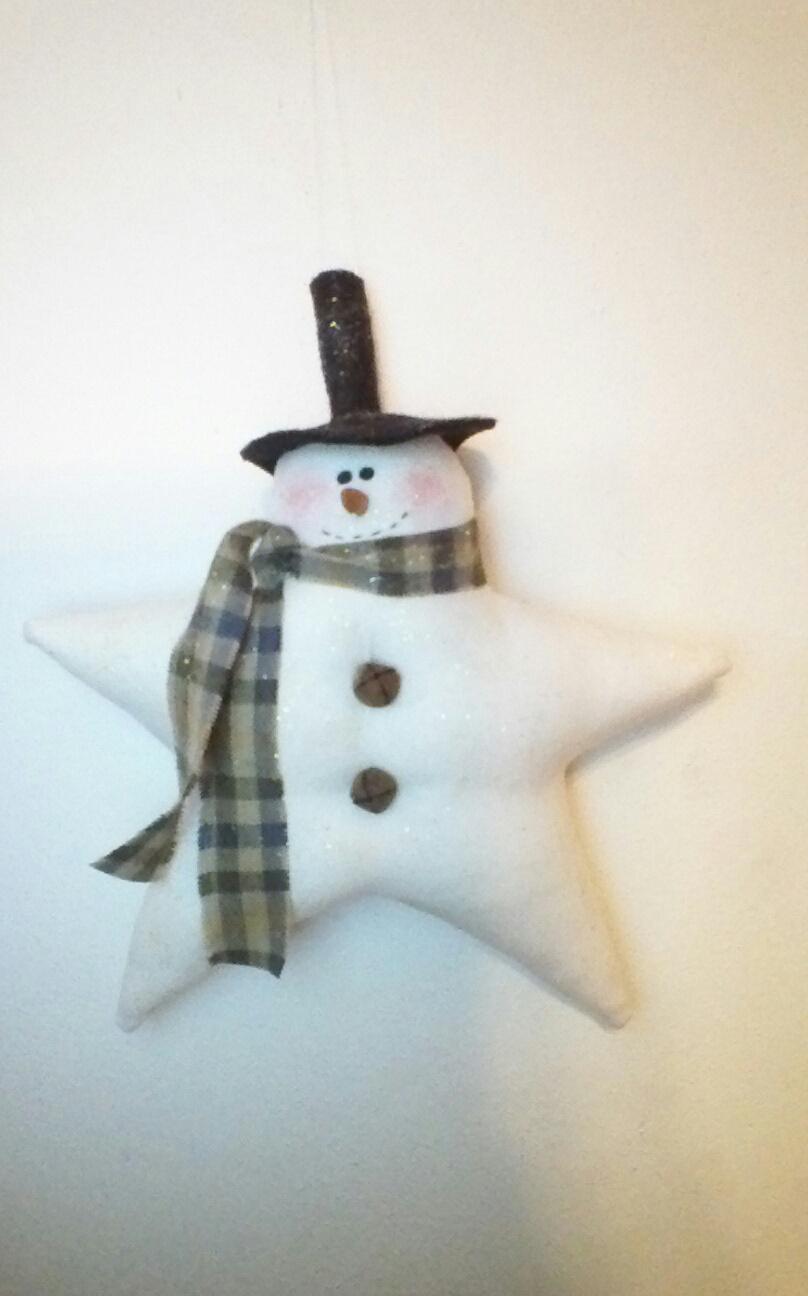 Star Snowman Ornie