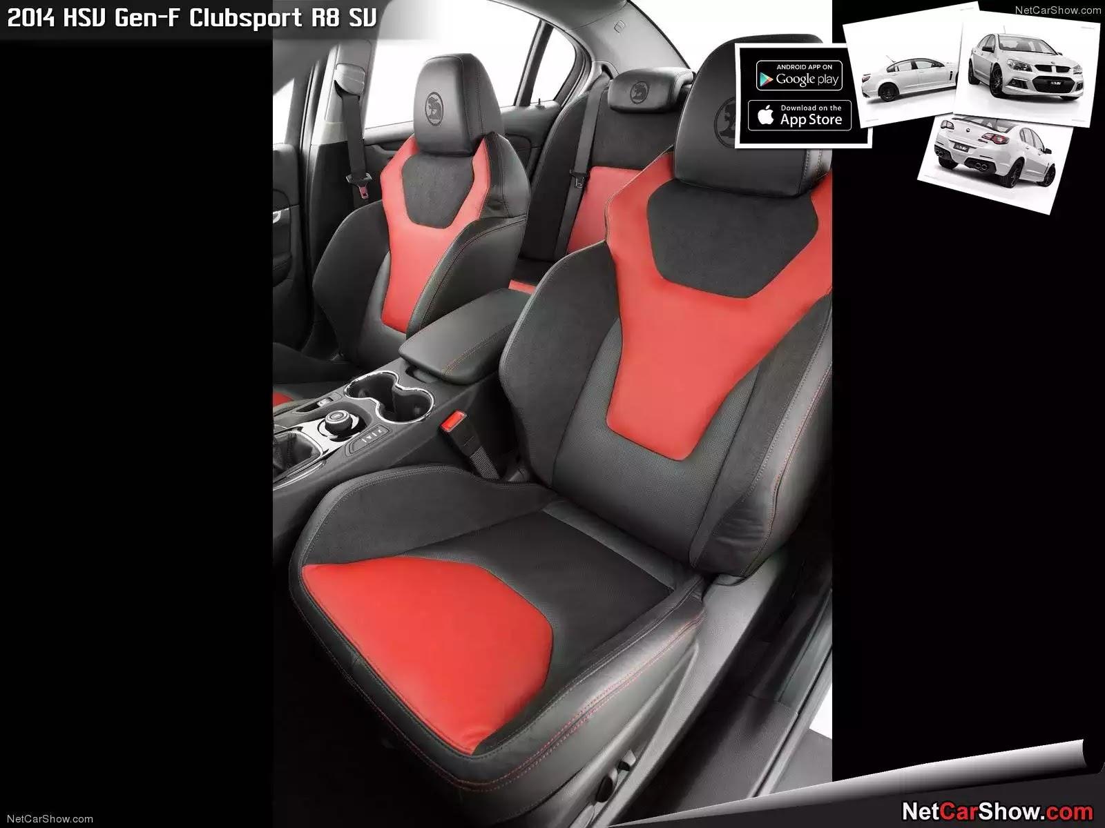 Hình ảnh xe ô tô HSV Gen-F Clubsport R8 SV 2014 & nội ngoại thất