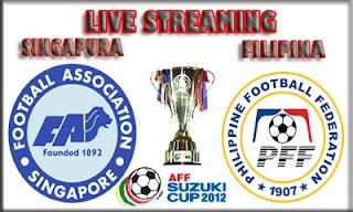 Keputusan Filipina vs Singapura 12 Disember 2012 - Piala AFF Suzuki 2012
