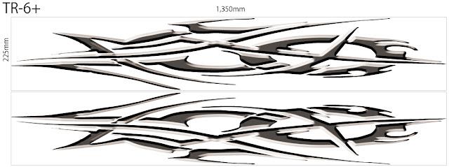 バイナルグラフィック トライバル 激安2