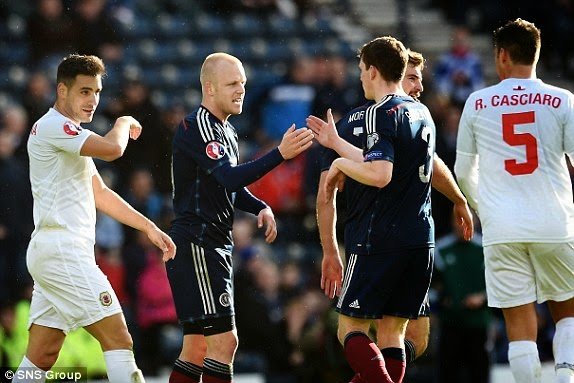 Highlights Scotland 6 – 1 Gibraltar (EURO Qualifiers)