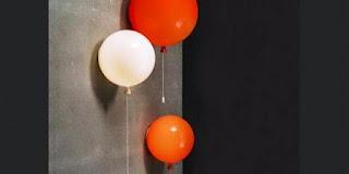 Desain Lampu Tidur Anak Lucu Bentuk Balon