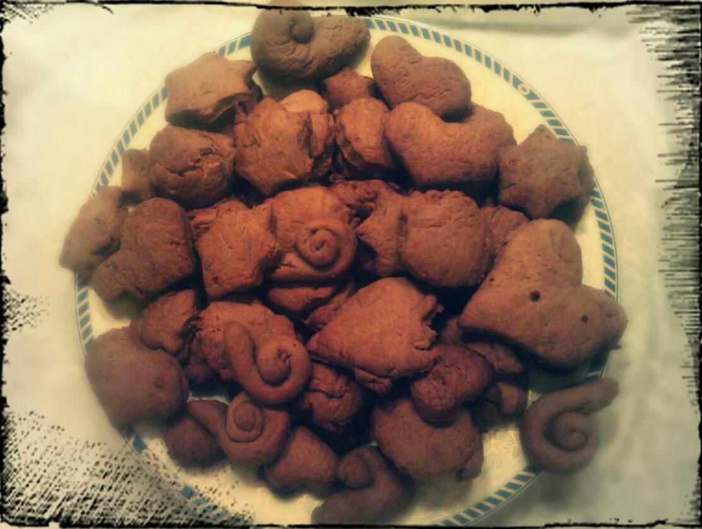 Semplicemente oggi cucinare con i bambini biscotti al cacao - Cucinare coi bambini ...