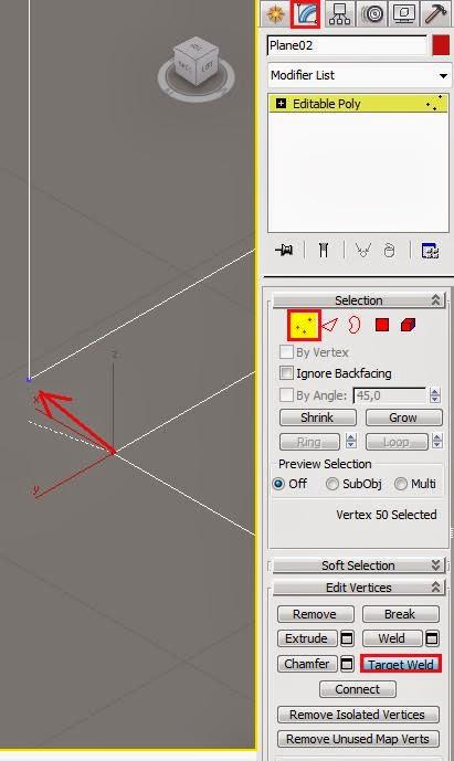 Distintas operaciones con vértices