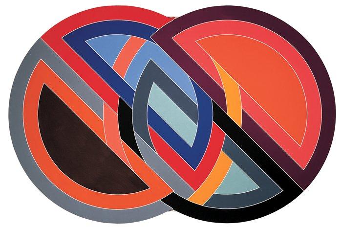 La sopa de sartel frank stella precursor del minimalismo for Minimal art frank stella