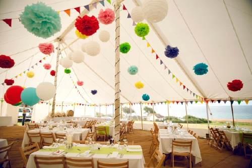 habis visto qu fcil es hacer pompones os animis a decorar con ellos vuestra boda si os habis quedado con ganas de ms diy haced click aqui