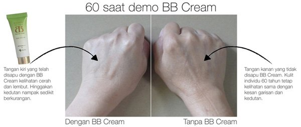 Demo 60 Saat Encera BB Cream