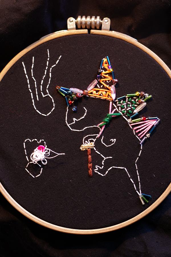 aliciasivert, alicia sivert, alicia sivertsson, inspirationskurs i fritt broderi, vildbroderi, undervattensdjur, kurs, inspiration, embroidery, needlework, stitch, workshop, levande verkstad