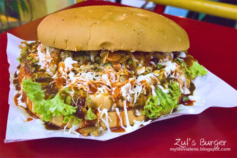 槟城最大汉堡 - Zul's Burger