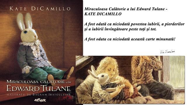 miraculoasa  calatorie  a  lui  Edward  Tulane  Kate  Dicamillo  carte  recenzie  iubire  lectie  de  viata  Maria  Teodorescu  Bahnareanu  Wrinkles  on  my  Timeline