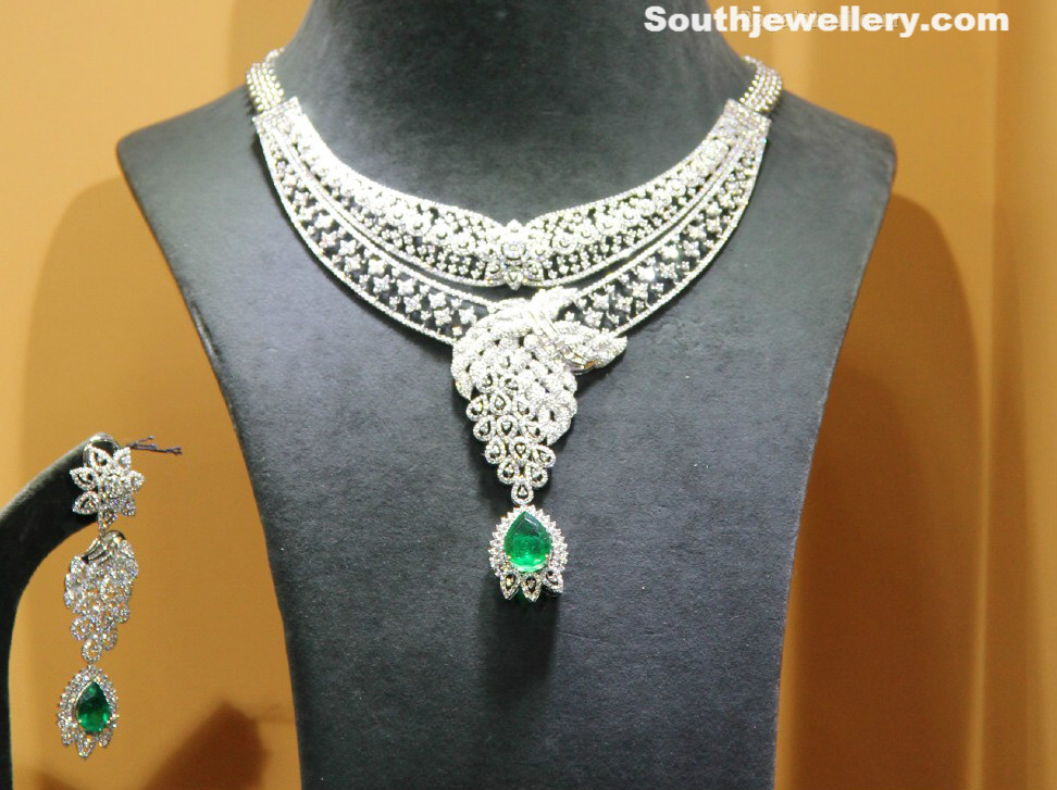 Diamond Necklace latest jewelry designs - Page 122 of 125 ...