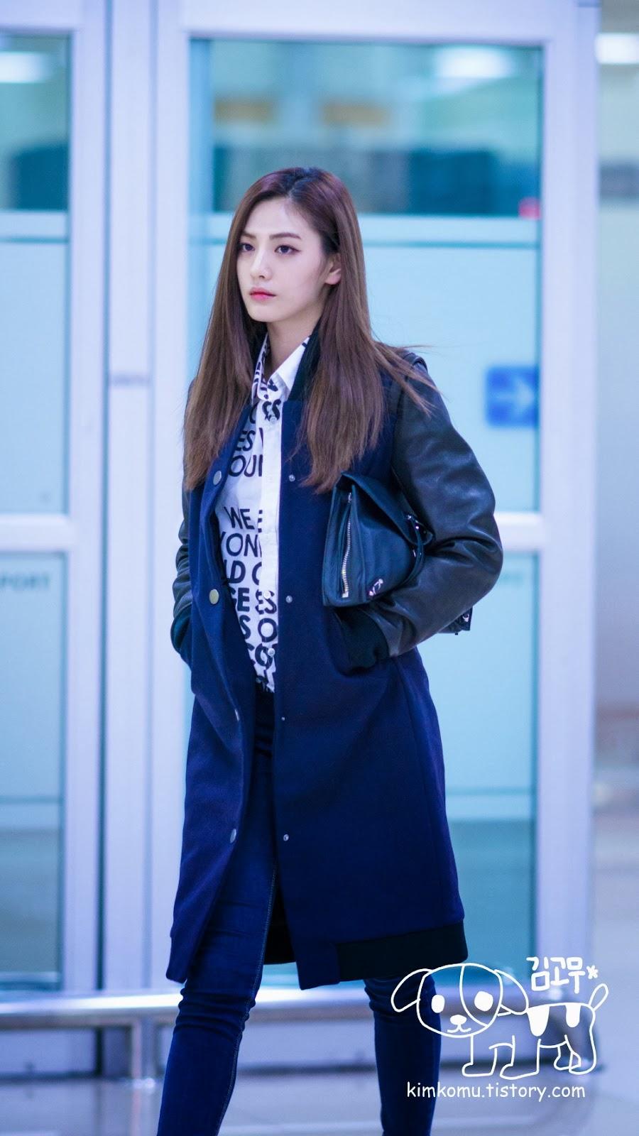 Official Korean Fashion Blog Afterschool Airport Fashion