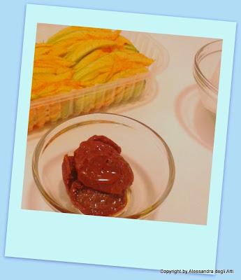 ingredienti fiori di zucchina fritti