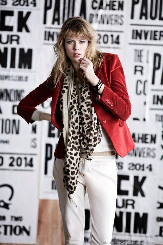 Paula Cahen D'Anvers otoño invierno 2014.Moda Abrigos invierno 2014.