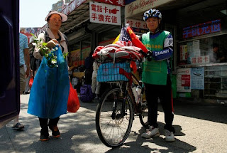 Man Bicycling Around the World,bike,cycling