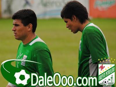 Oriente Petrolero - Hugo Suárez, Álex Arancibia - Club Oriente Petrolero
