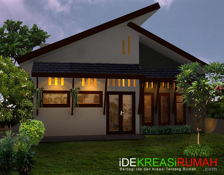 Desain Fasad Belakang Rumah Tropis Minimalis  Ide Kreasi Rumah