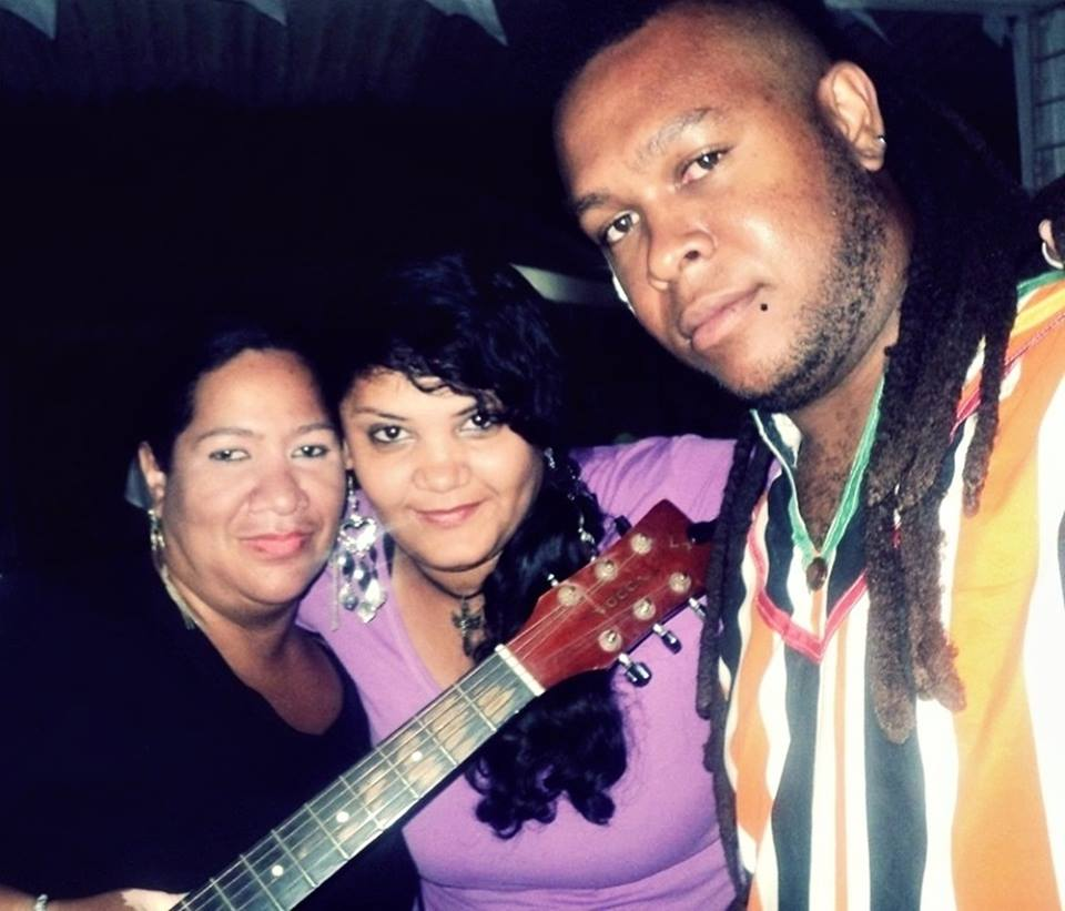 Com Gerly Anddrews e Kelvin Lion