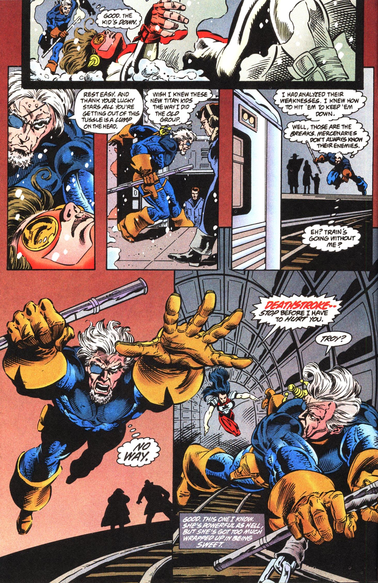 Deathstroke (1991) Issue #45 #50 - English 4