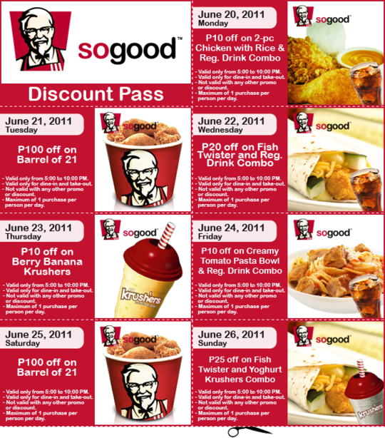 Coupons kentucky fried chicken 2019