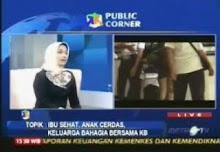 marissa haque dan ikang fawzi duta bkkbn nasional, 3 may 2011, metro tv