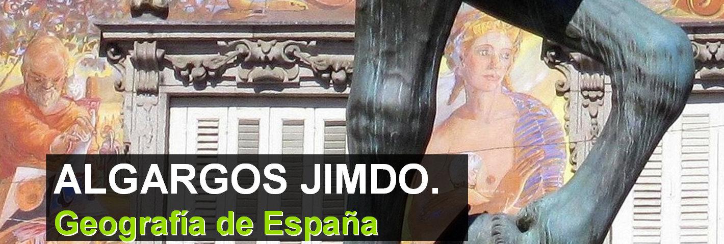 ALGARGOS JIMDO. GEOGRAFÍA DE ESPAÑA Presentaciones e índices