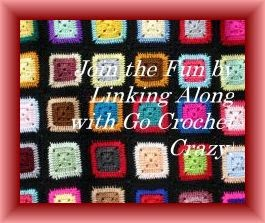 Join the weekly link party on Fridays at the Go Crochet Crazy blog! All things homemade and handmade welcome!