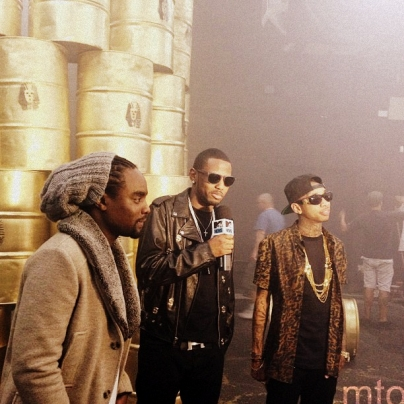 Tyga - Rack City (Remix) feat. Wale & Fabolous [Behind The Scenes]