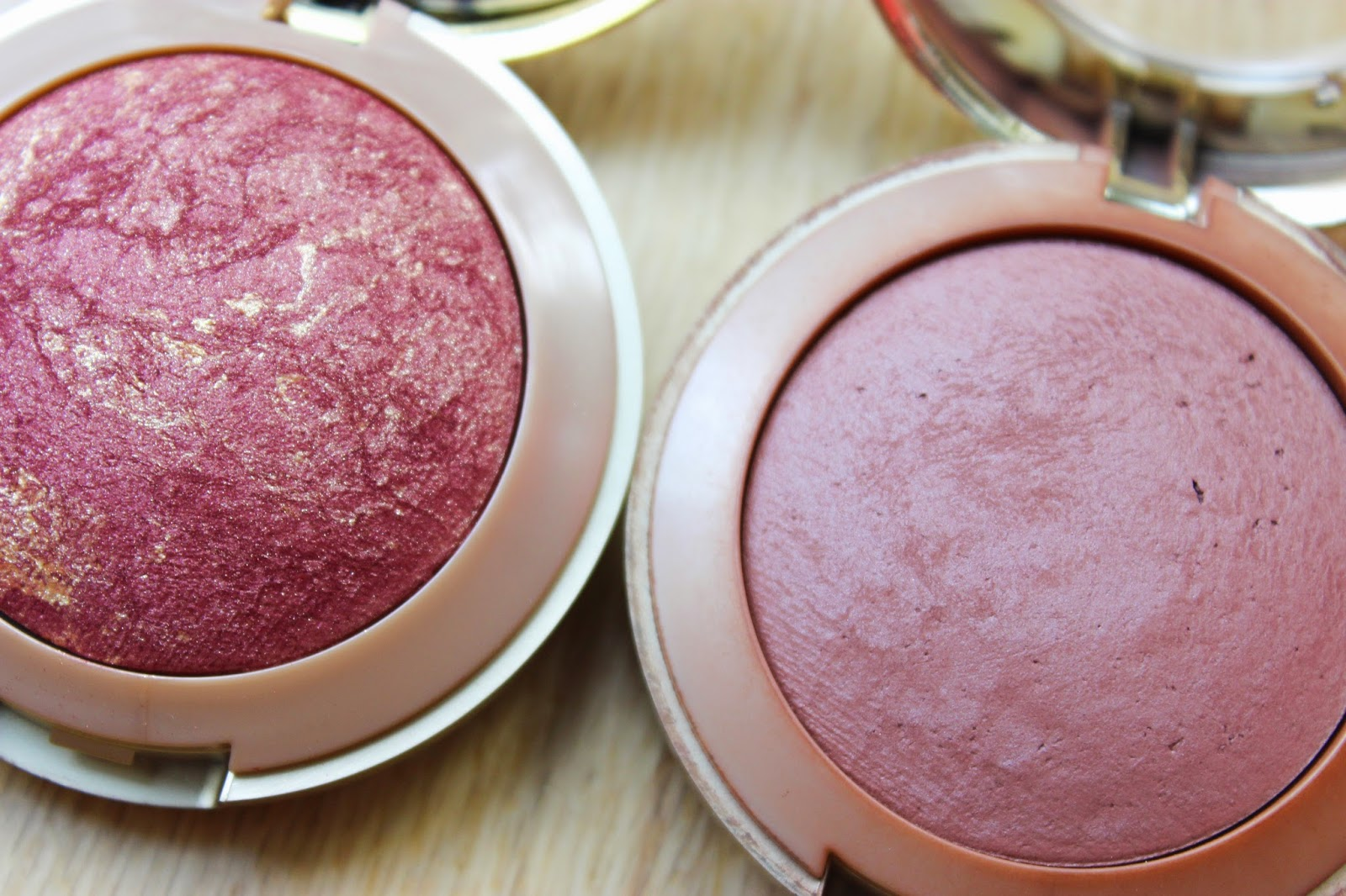 Milani Baked Blush Terra Sole Red Vino Swatches Discoveries Of Self Blog
