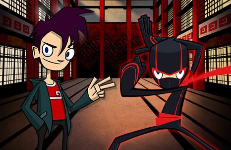 juegos de randy cunningham ninja total